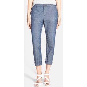 'The Tristan' Slim Midrise Trouser Pant
